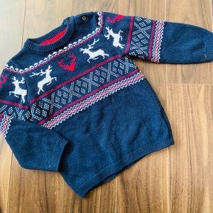 H&M Toddler Boy's Patterned Knit Sweater